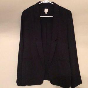 Open blazer